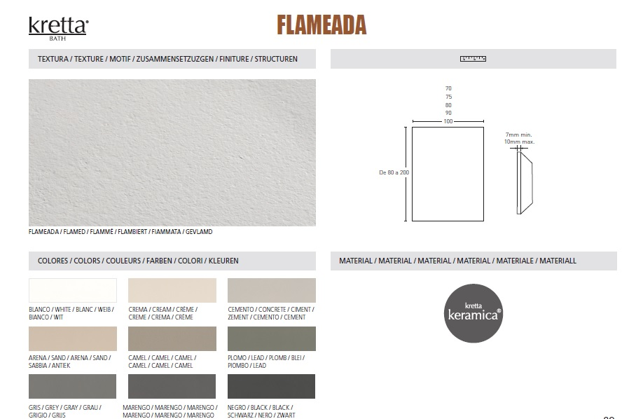 FLAMBE - TEXTURES & COLOURS