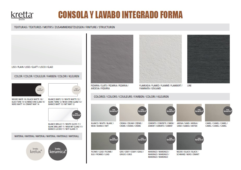 FORMA - TEXTURES & COLOURS