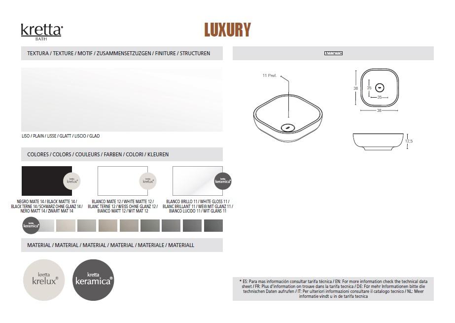 Luxury Kretta Bathroom Fixtures